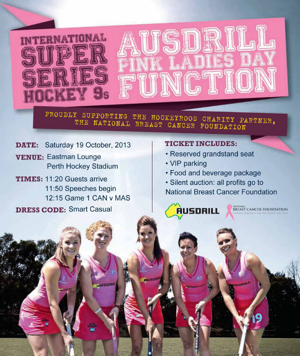 Ausdrill Pink Ladies Day Function